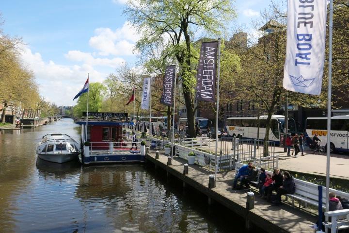 Amsterdam Canal Cruises kassahuisje