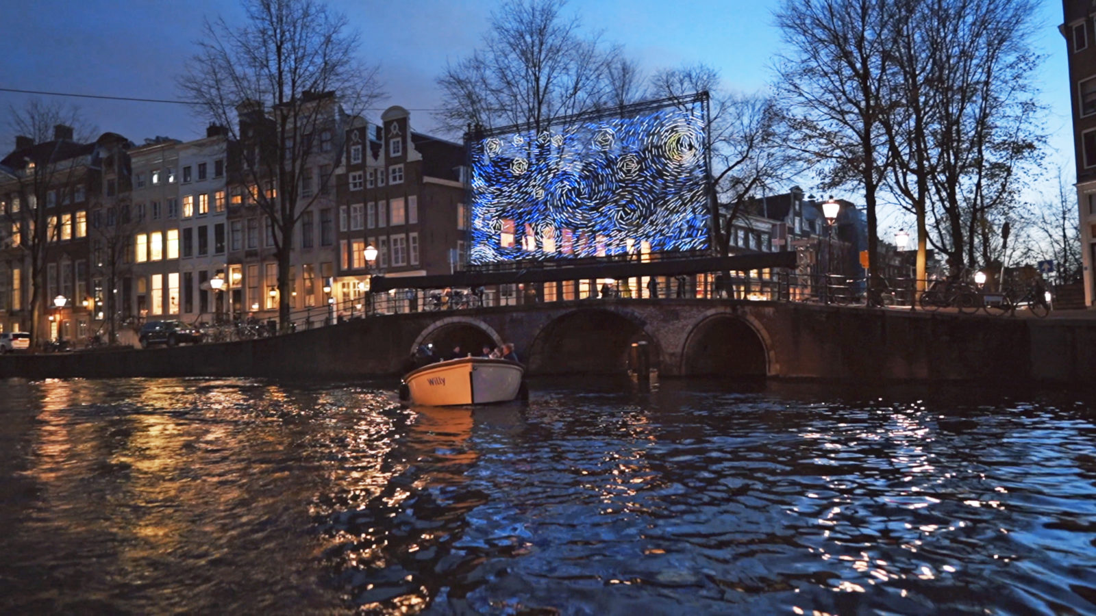 Amsterdam Light Festival Open Boat