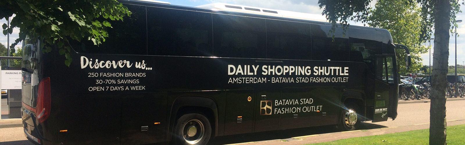 batavia shopping bustour amsterdam